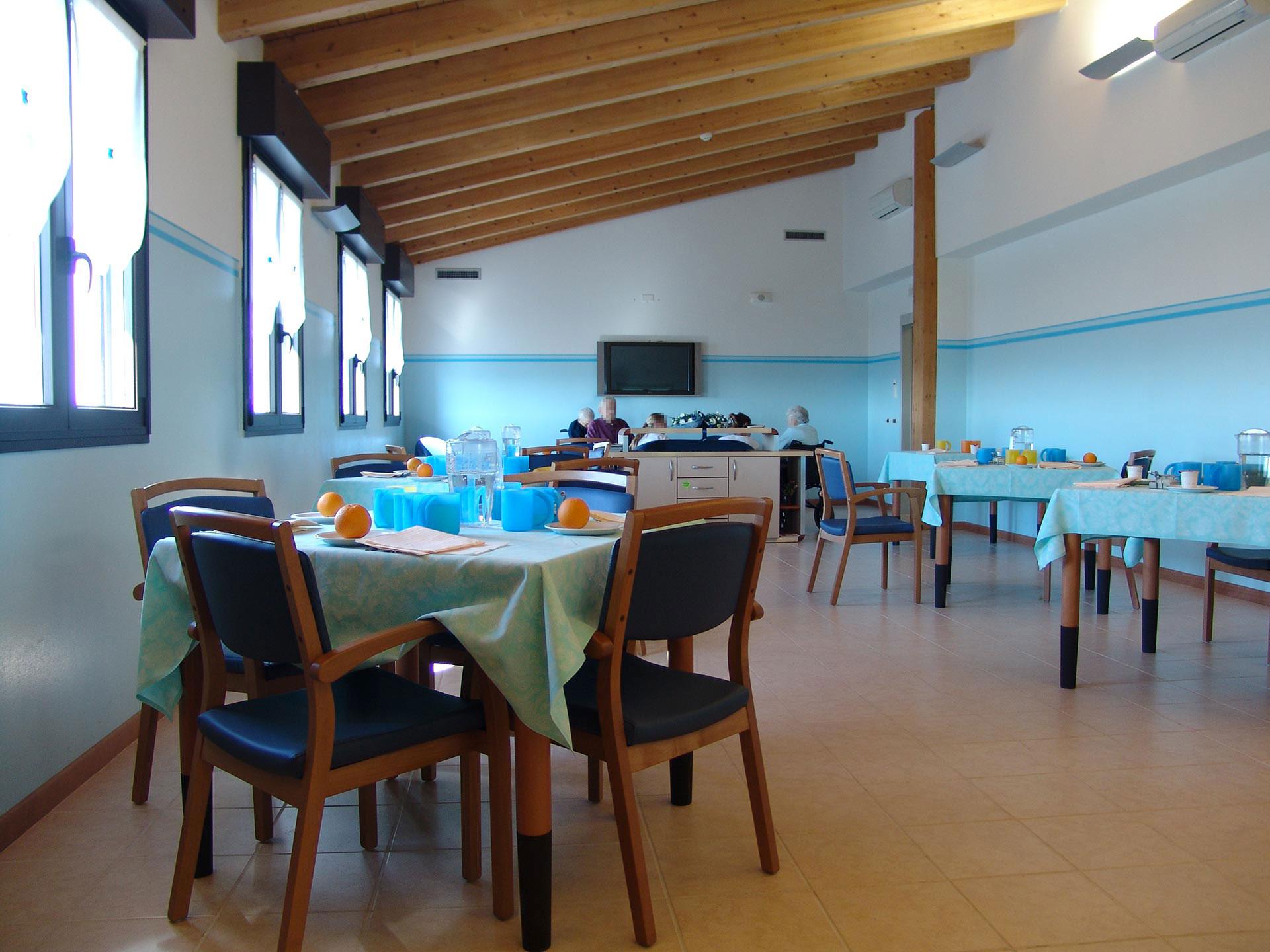 Casa di Riposo Benedetto Albertini Verona - sala pranzo